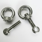 Swing Bolt M20 x 85mm x 16mm in 304 Stainless