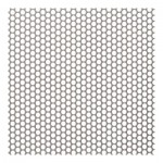 3mm Perforated 304 x 5mm Pitch - 0.5mm thick