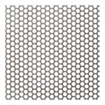 4mm Perforated 304 x 5mm Pitch - 1mm thick
