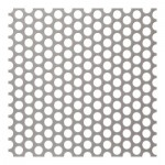 5mm Perforated 304 x 6mm Pitch - 1mm thick